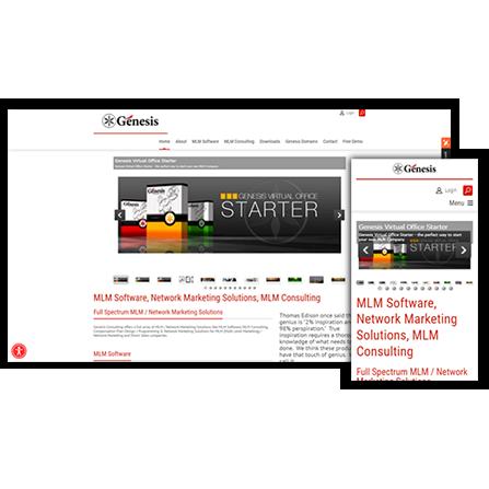 Genesis Media Group Website