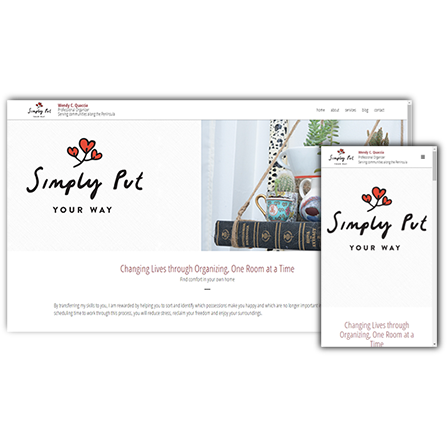 Simply Put Your Way Website