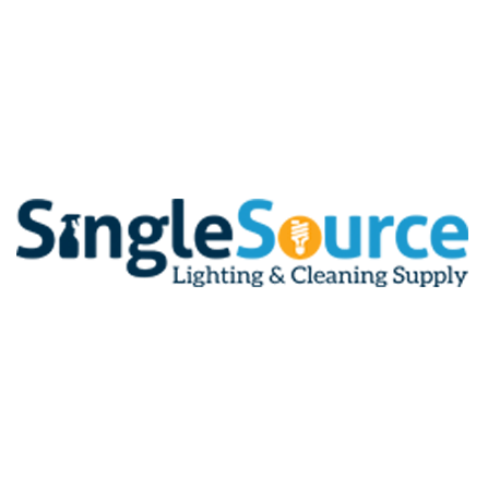 SingleSource Lighting and Cleaning Supply Logo