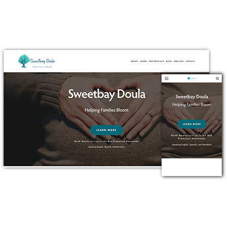 Sweetbay Doula Website