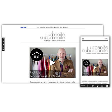 Urbanite Suburbanite Website